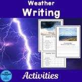 Weather Writing Activities Freebie