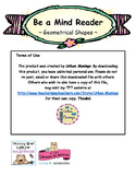 Be a Mind Reader - Geometrical Shapes