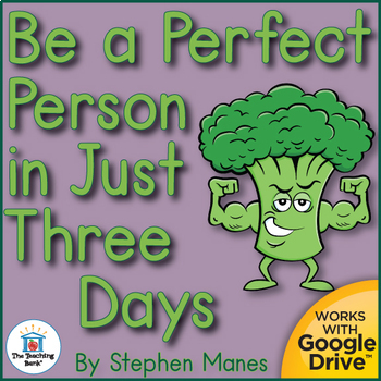 Be a Perfect Person in Just 3 Days Unit Novel Study