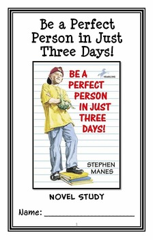 Be a Perfect Person in Just Three Days! (Stephen Manes) No