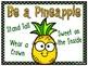 Be a Pineapple! Behavior Clip Chart