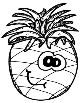 Be a Pineapple! Bulletin Board & Incentives