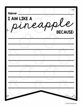 Be a Pineapple Classroom Banner Pack