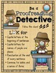 Be a Proofreading Detective – An Editing Activity FREEBIE