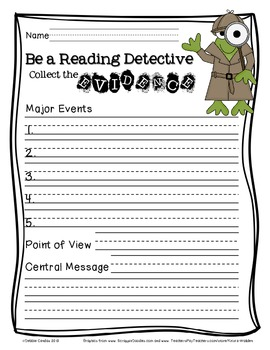 Be a Reading Detective: Collect the Evidence