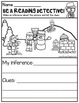 Be a Reading Detective! Making Inferences