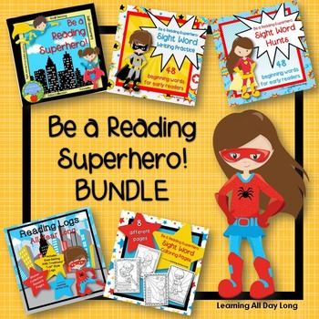 Be a Reading Superhero! BUNDLE