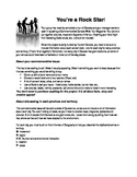 Be a Rock Star (5 themes of Geography Project)
