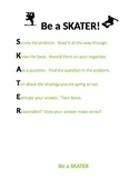 Be a SKATER! Math Problem Solving Strategy