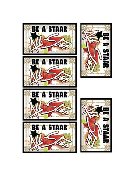 Be a STAAR All-Star Printable
