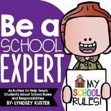 Be a School Expert! {Beginning of the Year Activities}