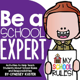 Be a School Expert! {Beginning of the Year Activities}