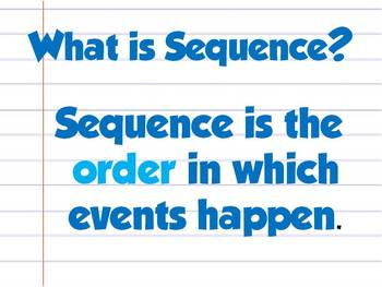 Be a Sequence Detective! {PPT to teach Sequencing}