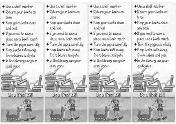 Be a Shelf Elf bookmarks