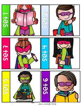 Be a Sight Word Superhero!