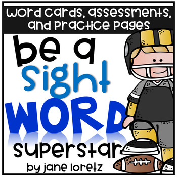 Be a Sight Word Superstar!