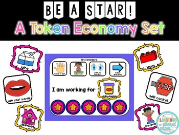 Be a Star! {A Token Economy Chart and Behavior Management System}