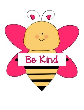 Be a Star!  Show Good Manners! - Bee Theme