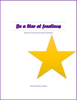 Be a Star at Fractions Mini-Pack