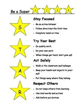 Be a Super STAR!