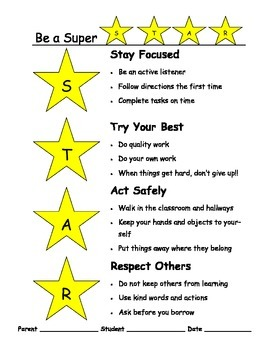 Be a Super STAR Contract