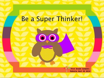 Be a Super Thinker!