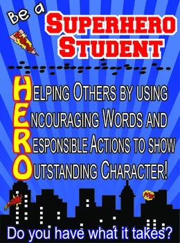 Be a Superhero Student
