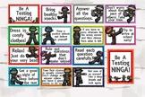 Be a Testing Ninja, Bulletin Board, Testing Strageties