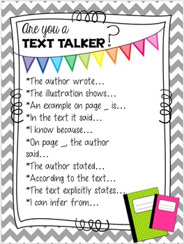 Be a Text Talker