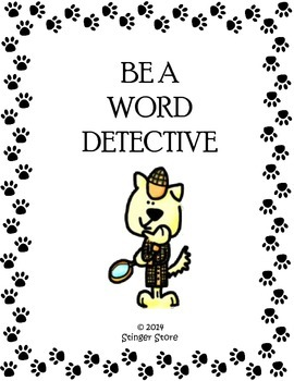 Be a Word Detective
