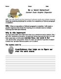 Be a Word Detective! Context Clues Rigorous Graphic Organizer