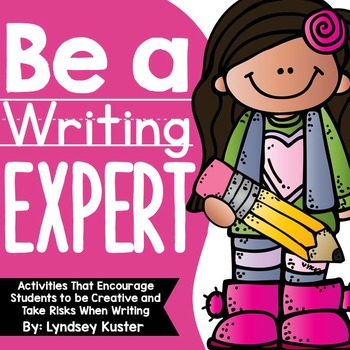 Be a Writing Expert! {Beginning of the Year Activities That Encourage Writing}