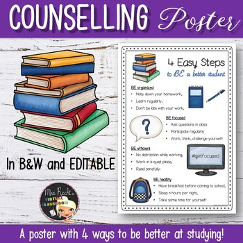 Be a better student - Advice Poster