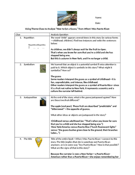 Be a literary detective- practice activity