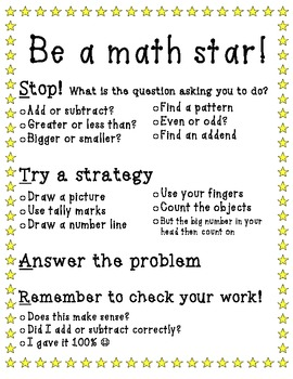Be a math STAR