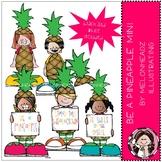 Be a pineapple clip art - Mini - by Melonheadz