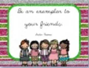 Be an Exemplar and Take Responsibility LDS Quotes