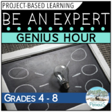 Be an Expert project based learning - inquiry (Genius Hour) | Distance Learning