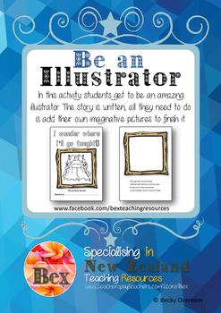 Be an Illustrator - I wonder where I'll go tonight? - Boy Version