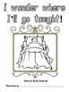 Be an Illustrator - I wonder where I'll go tonight? - Girl Version