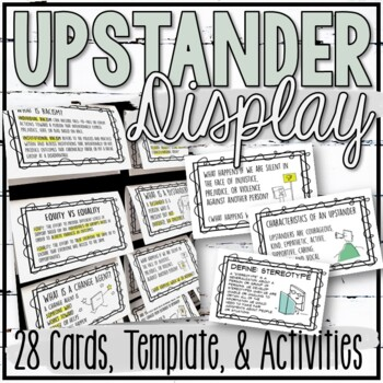 Upstander Interactive Bulletin Board and Activities
