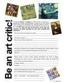 Be an art critic!