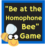 Be at the Homophone Bee: Homophone Powerpoint Review Game and Task Cards