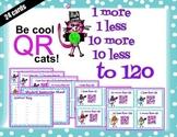 QR codes 1 more, 1 less, 10 more, 10 less to 120 Tek 1.5c