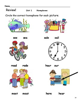 Be in the Know with Homophones!