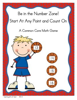 Be in the Number Zone!  Start At Any Point and Count On