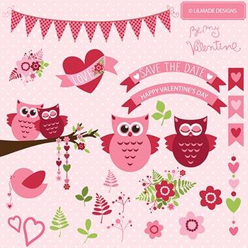 Be my Valentine vector clip arts