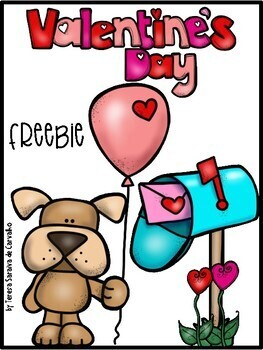 Be my valentine - freebie