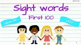 Be quick, be fit! Fry's First 100 Sight Words