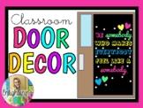 Be SOMEBODY who makes everybody feel like a SOMEBODY- Classroom Door Decor Kit
